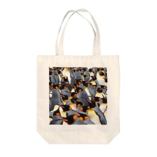 ペンギンTo-To Tote bags
