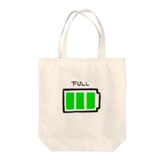 FULL電池マーク Tote bags