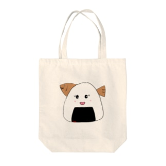 おにぎりへし子 Tote bags