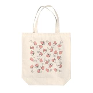 UNCHIKUN(トイレでの)散らし Tote bags