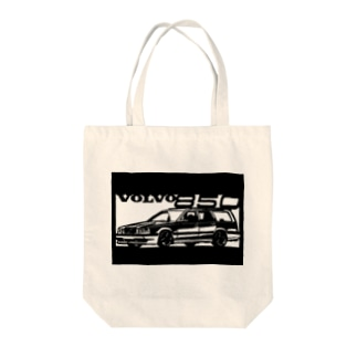 VOLVO 850切り絵デザイン Tote bags