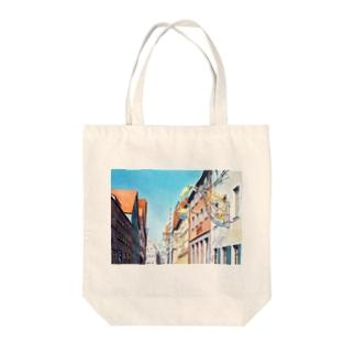 ローテンブルク(白鳥の看板) Tote bags
