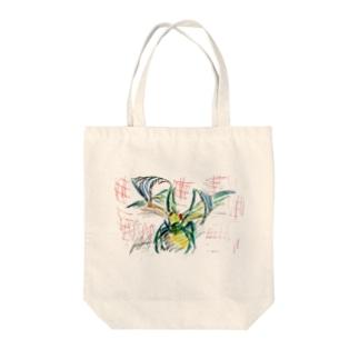kamakiri Tote bags