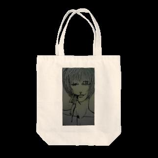 桜田のぃずのサクッとサクッと Tote bags