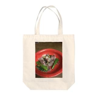 ぬた Tote bags
