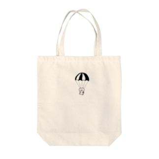 パラシュート Tote bags