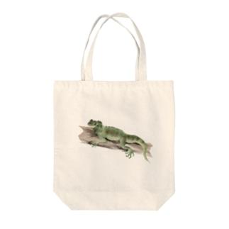 Animals シリーズ 〜フィリピンホカケトカゲ〜 Tote bags