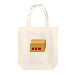 りんごの箱 Tote bags