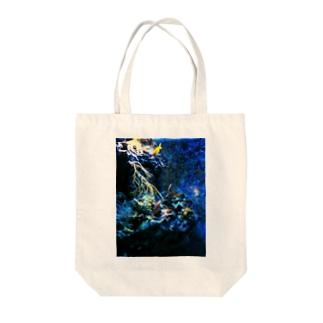 海底 Tote bags