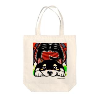浅草わんこ Tote bags