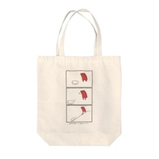 シャリーーーッ!!! Tote bags