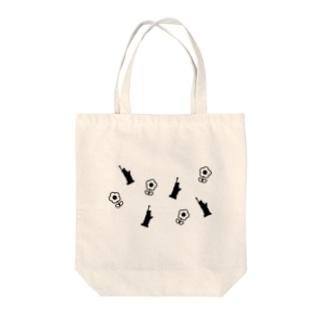 自由の女神とお花 Tote bags