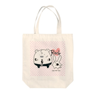 Sagihamu RockシリーズtypeA Tote bags