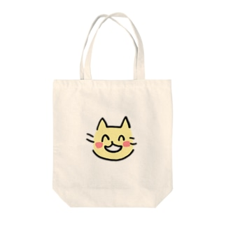 えへへねこ Tote bags