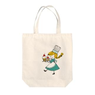 パティシエちゃん Tote bags