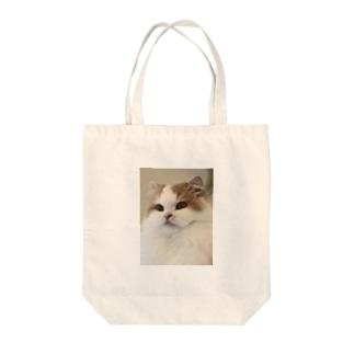 お買い物に連れてって Tote bags