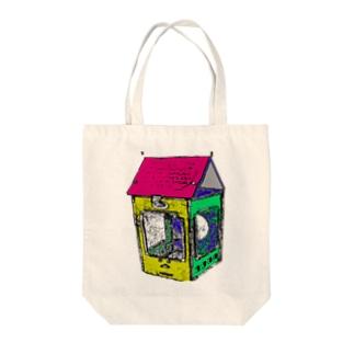 組み立てランタン Tote bags