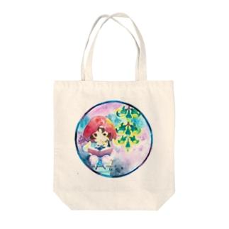 ひすいかずらんぷ Tote bags