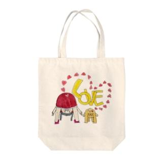 ちーとくぅ Tote bags