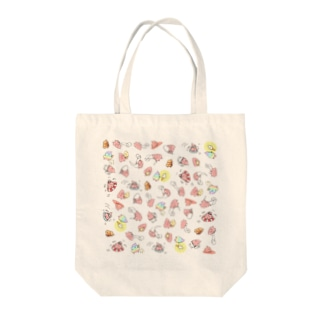 UNCHIKUN(尽くし) Tote bags