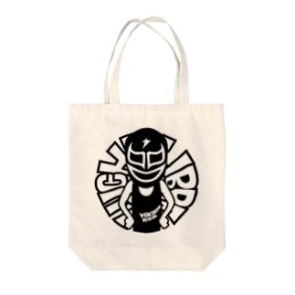 LUCHA LOGO5 Tote bags