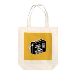 ラジオ Tote bags