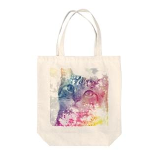 コロネ Tote bags