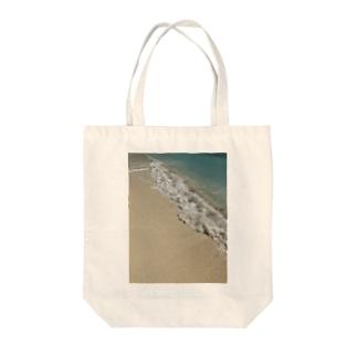 砂浜リゾート Tote bags