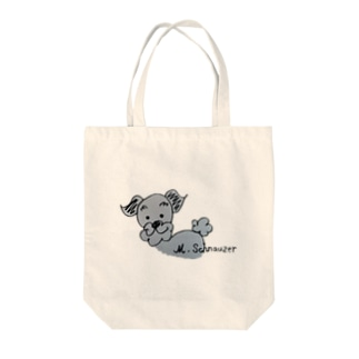 l ♡ ミニシュナ Tote bags