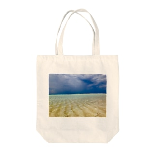 ビーチ Tote bags