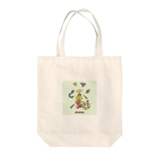 ココシバ×Sonopuro-Nopuro Tote bags