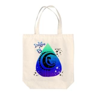 くずもちルー【あい色の雨。】 Tote bags