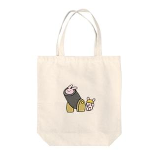 そらとぶうさぎ【大砲】 Tote bags