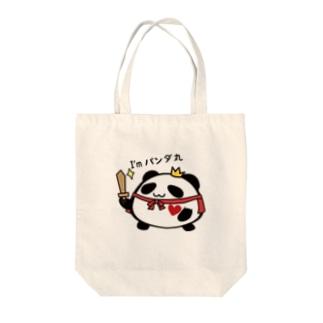 パンダ丸-キング Tote Bag