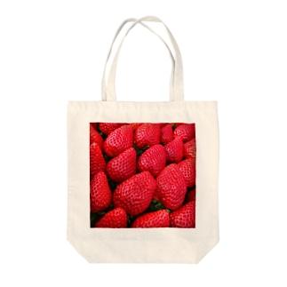 採れたて苺 Tote bags