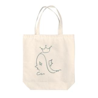 アマビエさん Tote bags