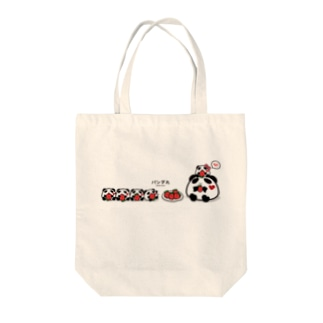 パンダ丸といちご Tote Bag