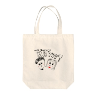 We gonna be happy.... Tote bags
