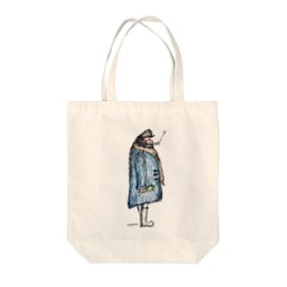 captain Ahab. Tote bags