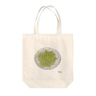 枝豆の中 Tote bags