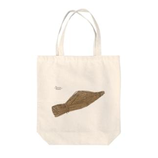 ねばぁぎぶあっぷ(納豆) Tote bags