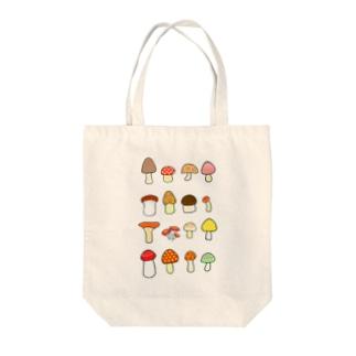 きのこきのこきのこ Tote Bag
