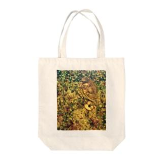 ダンディライオンの旅 Tote bags