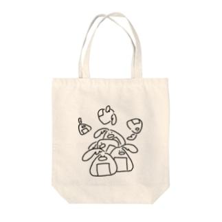 ヒラタドリ(おにぎり) Tote bags