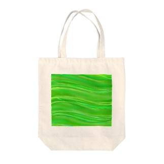 緑のそよ風 Tote bags