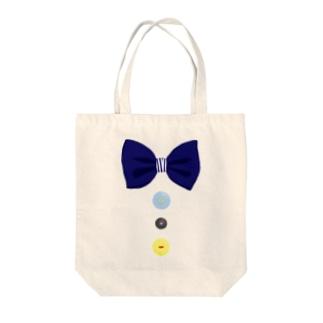 蝶ネクタイ*紺 Tote bags