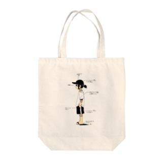 ホームセンターコーデ Tote bags