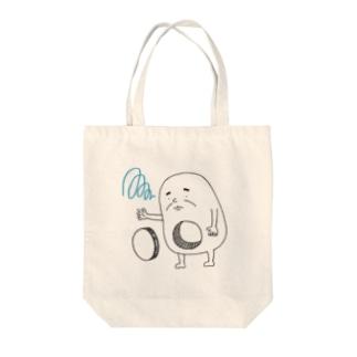 心の穴太郎(穴埋め) Tote bags