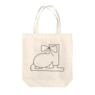 シンプルなくつ Tote bags