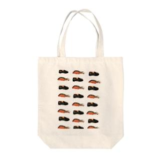 鮭とローファー Tote bags